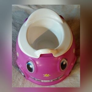 PUNCH BUGGY GIRLS PINK CAR POTTY